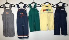 Vtg. Toddler Overalls Lot Of 5