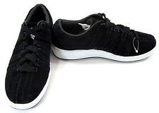 K-Swiss Shoes Suede Classic Black Sneakers Size 8 EUR 41
