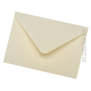 Pier Paper Co. 50 pack x C6 Ivory 100gsm Envelopes for Weddings & Cardmaking