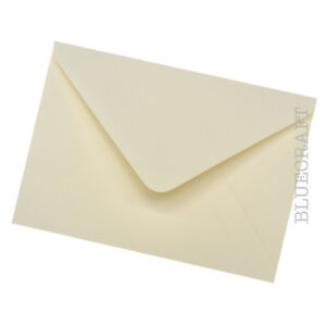 25 x A6 C6 Ivory 100gsm Luxury Envelopes for Cardmaking