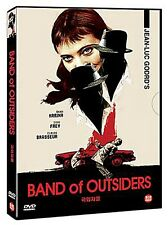 Band Of Outsiders / Bande à part, Jean-Luc Godard (1964) - DVD new