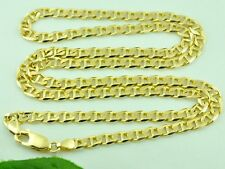 14K Solid Yellow gold Gucci Mariner chain Necklace 24 inch 21 grams lobster lock