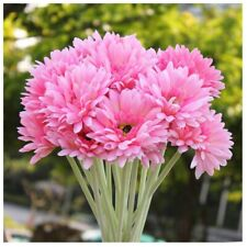 10 PCS Artificial Silk Gerbera Daisy Flower Wedding Party Home Bridal Bouqu J8G3
