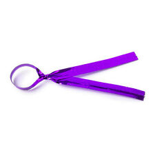 50 Purple Metallic Twist Ties 10cm 4 inch For Cake Pops lollipops Cello Bags