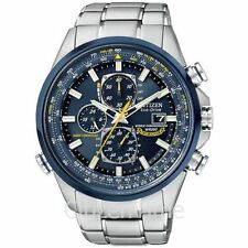 -NEW- Citizen Blue Angels Atomic Chrono Watch AT8020-54L