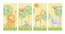 SAFARI JUNGLE LIONS ANIMAL NURSERY KIDS QUICKSTICKS NEW