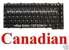 Toshiba Tecra A1 A2 A3 A3X A4 A5 A6 A7 A8 M7 Keyboard Clavier Canadian French CF