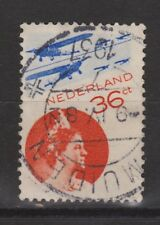 LP 9 luchtpost 9 TOP CANCEL MUIDEN NVPH Nederland Netherlands airmail