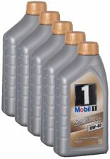 MOBIL 1 New Life 0w-40 5x 1 litri VW 504.00 MERCEDES 229.5 ll-01 BMW OPEL GM