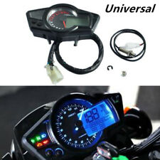 12V Motorcycle Scooter ATV 15000 RPM LCD Odometer Speedometer Tachometer Gauge