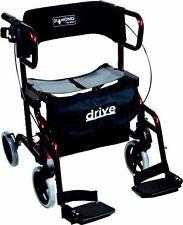 Diamant Deluxe 2 in 1 Rollator und Transport Rollstuhl