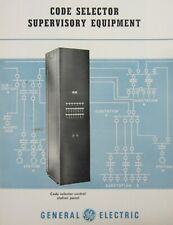 General Electric Switchboard Code Selector Supervisory Phone Equipment 1950s