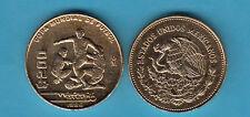 MESSICO 200 PESOS 1986 MONDIALI CALCIO WORLD CUP SOCCER COPPER NIKEL  MEXICO