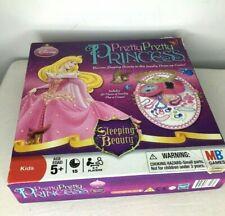 Disney Sleeping Beauty Pretty Pretty Princess Game MB Complete