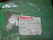 REXROTH BOSCH GROUP PNEUMATIC FLOW CONTROL