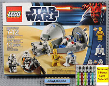 LEGO Star Wars - 9490 Droid Escape NISB C-3PO R2-D2 Sandtrooper Minifigure
