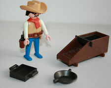 PLAYMOBIL - 3747 VINTAGE SHERIFF CHERCHEUR OR TAMIS / GOLD HUNTER - WESTERN