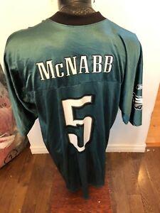 MENS XLarge Reebok Football Jersey Philadelphia Eagles #5 Donovan McNabb