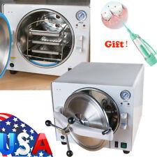 Updated! 18L Dental Autoclave Steam Sterilizer Medical sterilizition + Irrigator