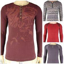 Individualisierte figurbetonte Langarm Herren-T-Shirts aus Baumwolle