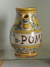 ANTIQUE ITALIAN  PHARMACEUTICAL JAR, 16th. century