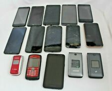LOT OF SMART AND FLIP PHONES , SAMSUNG, BLACKBURRY AND MORE- PARTS OR REPAIRS