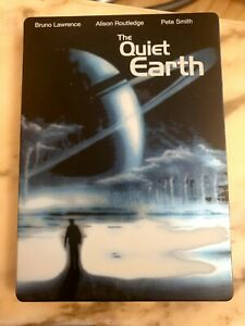 The Quiet Earth - Rare Deleted Steelbook DVD Near Mint Condition