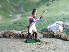 Vintage Napoleonic wars Airfix French grenadier attacking 1:32 painted