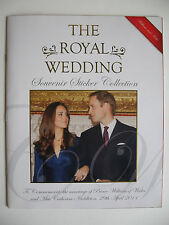 """Panini Trading Cards Album """"The Royal Wedding William and Kate"""", Hebrew, Complete"""