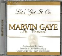 Marvin Gaye CD In Concert Brand New Sealed Very Rare