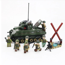 Seconda guerra mondiale esercito britannico soldato MINI FIGURES MILITARI GUERRA Set WW2 UK ARMI Fit LEGO