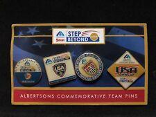 Albertsons Commemorative Team Pin Set  USA Volleyball Water Pol0 Soccer Softball