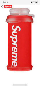SUPREME HYDRAPAK STASH 1 LITER WATER BOTTLE RED FALL/WINTER 2020 - 100% AUTH.