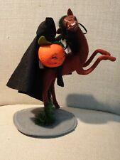 "Vintage Annalee Mobilitee Halloween Doll Headless Horseman Sleepy Hollow 10"""