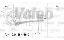 VALEO Alternador 70A Para CITROEN SAXO 437190