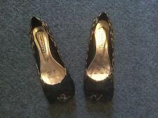 Ladies Animal Print Red Herring Shoes Size 3