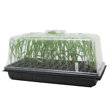 72 PIECE SEED STARTER KIT TRAY Seedling Clone Plant Propagation Greenhouse Dome