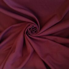 5 Metres Twill Quality Curtain & Suit Fabric In Rich Wine