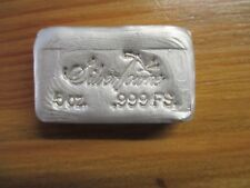 LINGOT ARGENT 999 160 gr - 5 Oz USA SILVER TOWNE SILVER BAR SILBERBARREN