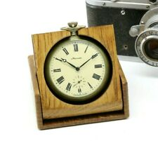 Custom wooden Box 50mm Retro For Molnija and other pocket watch Handmade