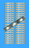 4,45€/m - 40 St. LED Hausbeleuchtung WEISS 5cm Modellbeleuchtung Bahnsteig Bel.