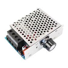 Ac 110 220v 10000w Scr Motor Speed Controller Volt Regulator Thermostat Dimmer