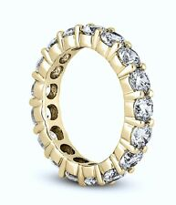 18kt 3.62ct G VS Round Diamond Eternity Wedding Ring Band 1/5ct Each Diamond
