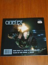 CINEFEX #122 JULY 2010 IRON MAN 2 ALICE IN WONDERLAND SPLICE US MAGAZINE =
