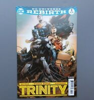 Trinity #1 Jason Fabok Variant Cover ~ DC Universe Rebirth Batman, Superman