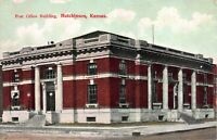 Postcard Post Office Building in Hutchinson, Kansas~122549