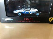 Ferrari 158 F1 John Surtees Mexico GP 1964 - Hotwheels Elite 1/43 scale