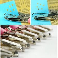 Hand Punch Cushion Comfort Ergonomic Soft Grip Paper Hole Puncher Plier Craft B