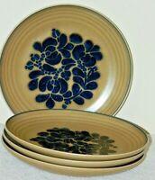 "SET OF 4 VINTAGE USA CASTLE PFALTZGRAFF FOLK ART 10"" DINNER PLATES"