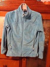 Mountain Hardware Fleece Zip Jacket Sz Small S Light Blue